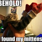 I found my mittens