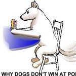 dogs cant win at poker