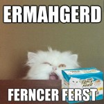 oh my fancy feast