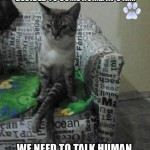 we need to talke human